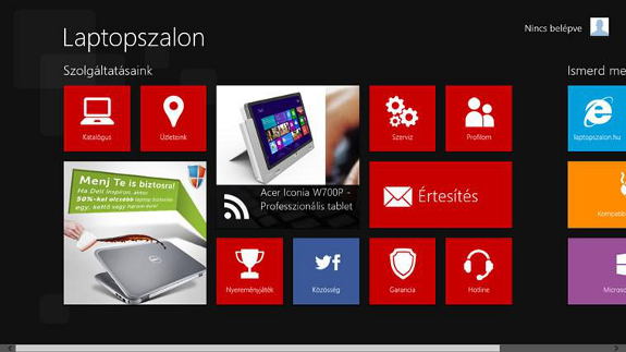 Mikulás ajándék a Windows 8-as eszközt használók számára!