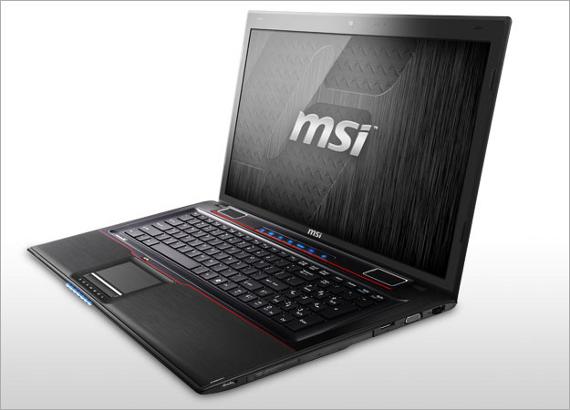 Az MSI GE60, GE70, GT60, GT70 gamer notebooksorozata