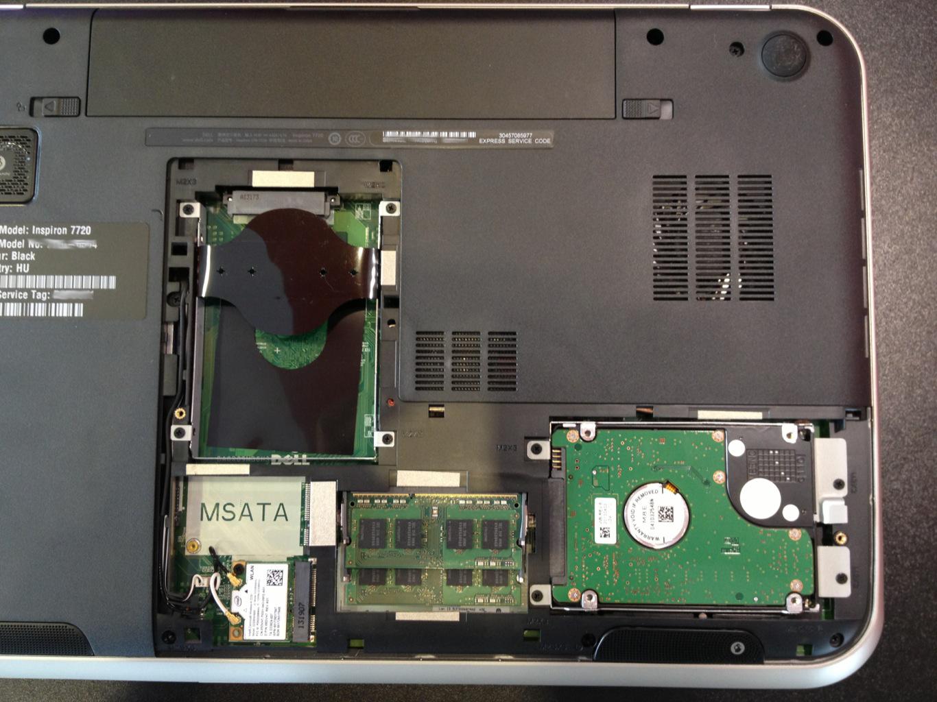 Dell Inspiron 7720 teszt