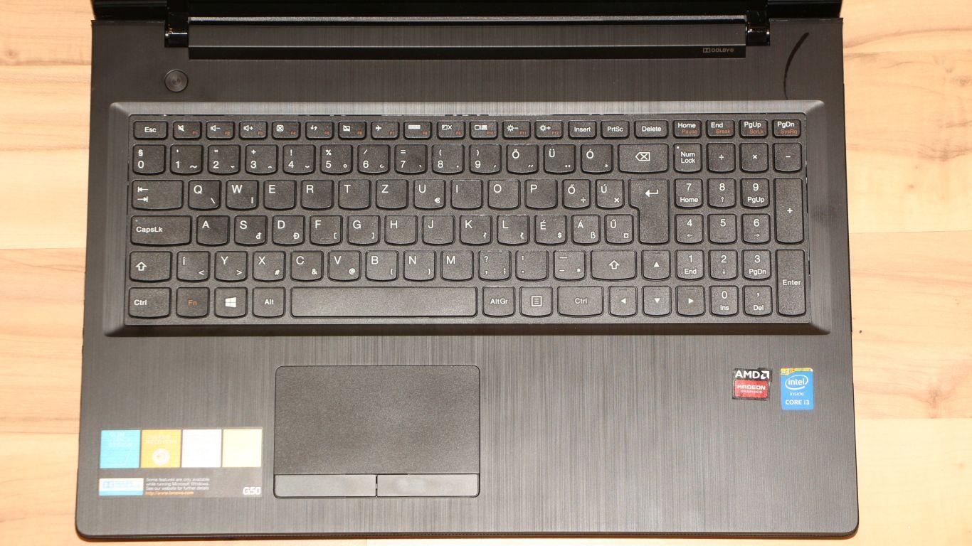 Lenovo IdeaPad G50-70 teszt