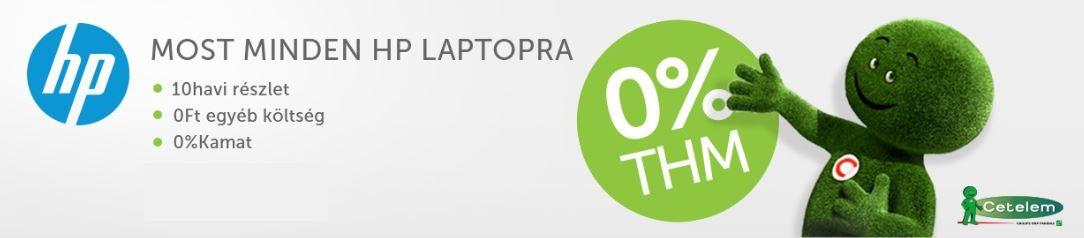 0% THM hitel akció a Laptopszalonnál