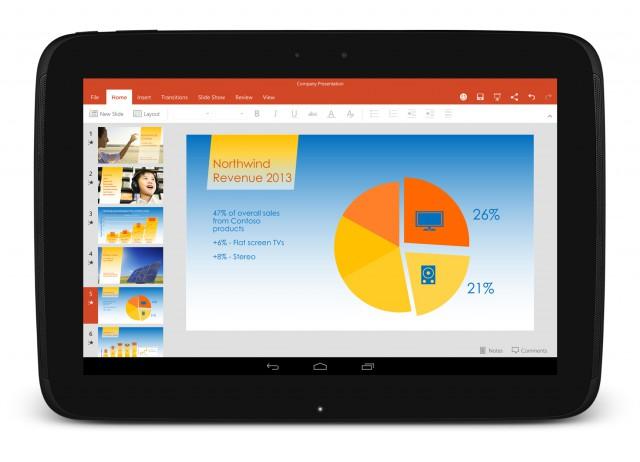 Microsoft Office, OneDrive és Skype előretelepítve a Sony, LG és Prestigio Androidos tabletein