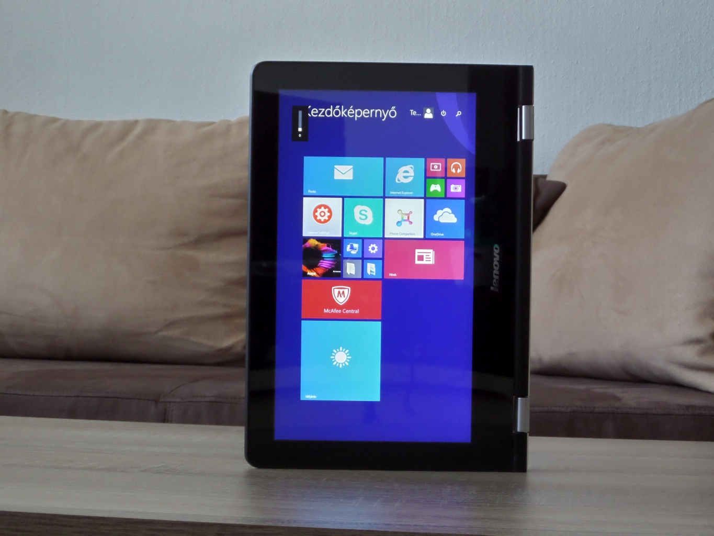 Lenovo Yoga 300 teszt