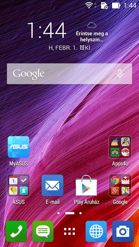 ASUS ZenFone C teszt
