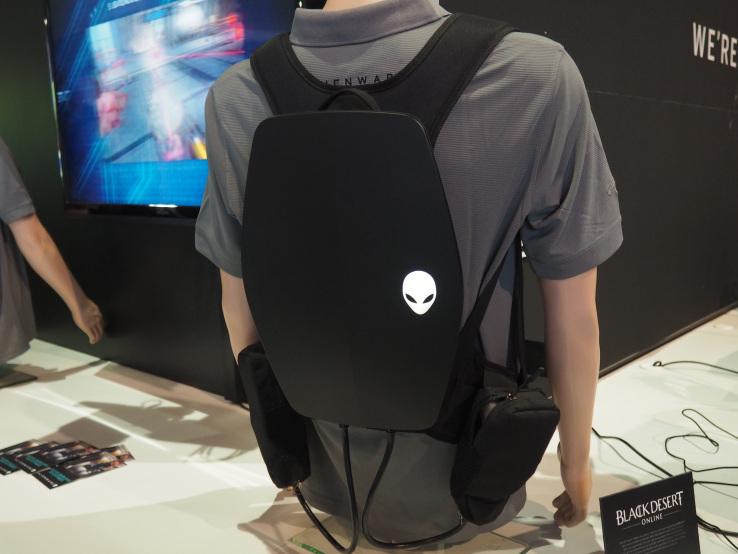 VR hátizsákkal állhat elő az Alienware
