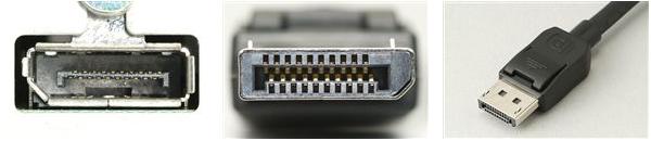 D-SUB, DVI, HDMI, DISPLAYPORT, THUNDERBOLT, USB Type-C - CSATLAKOZÓ GYORSTALPALÓ