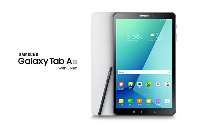 Galaxy Tab A, S Pen-nel
