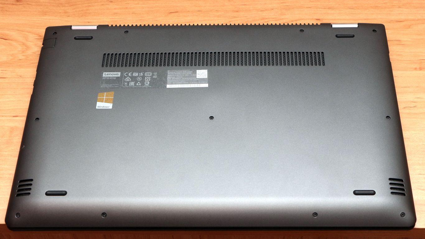Lenovo Yoga 510-15ISK - Hajtogatós