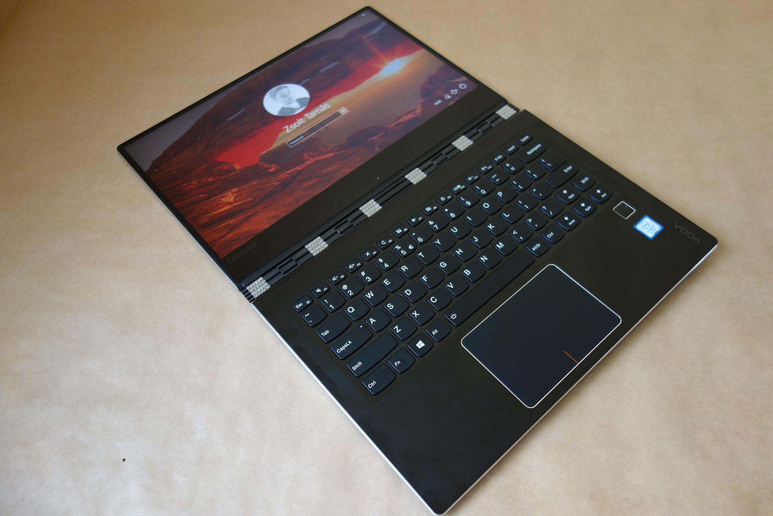 Lenovo Yoga 910 teszt