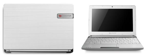Az új Packard Bell dot s netbook