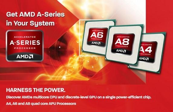AMD Trinity mobil platform