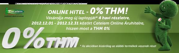 0 százalék THM a Laptopszalonban