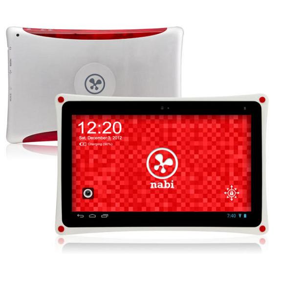Nabi XD - Fiataloknak szánt Tegra 3 alapú tablet