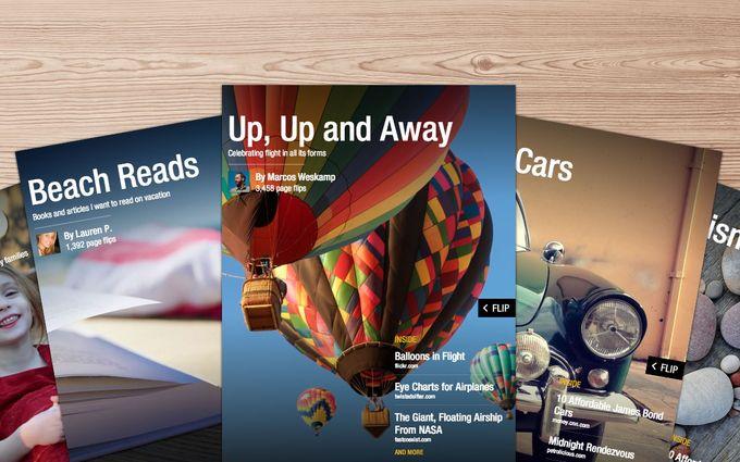 Flipboard 2.0: Légy te is szerkesztő!