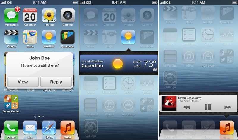 Letisztultabb formát ígér az iOS7