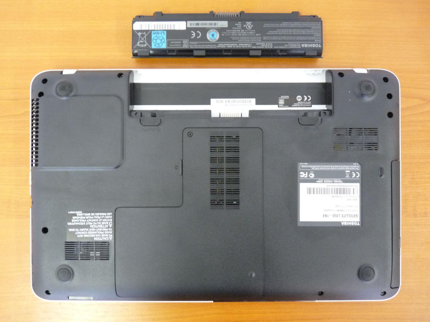 Toshiba Satellite L850-1H4 teszt