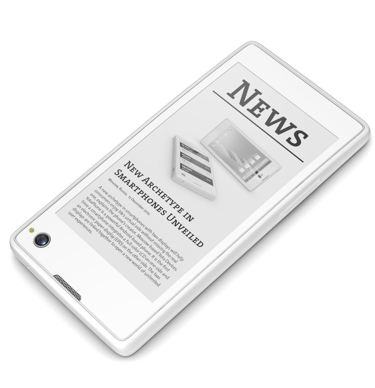 YotaPhone, másodlagos E-Ink kijelzővel