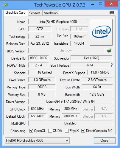 Dell Latitude E6430 teszt
