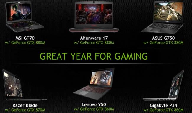 nVIDIA GeForce 800M - láthatáron a legújabb GPU széria