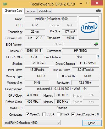 HP Probook 450 G1 teszt