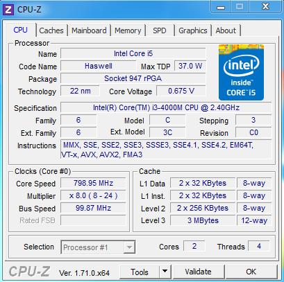 Fujitsu Lifebook A544 teszt
