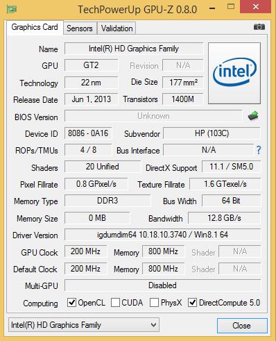 HP Probook 450 G2 teszt