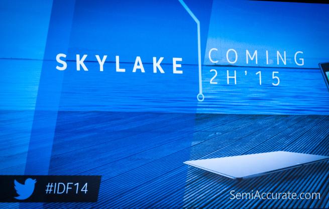 15W Skylake processzorok Iris grafikával