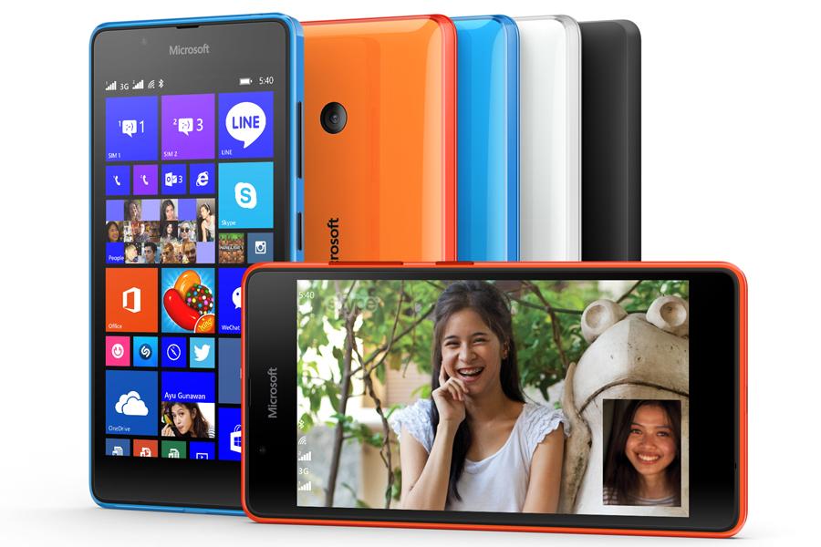 Jövő hónapban érkezik a Microsoft Lumia 540 Dual SIM okostelefon