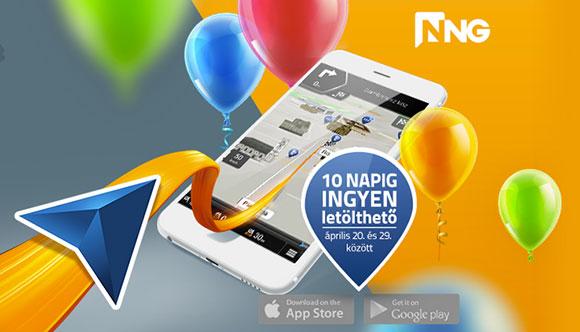 Legálisan, ingyenesen letölthető az iGO navigáció Androidra és iOS-re