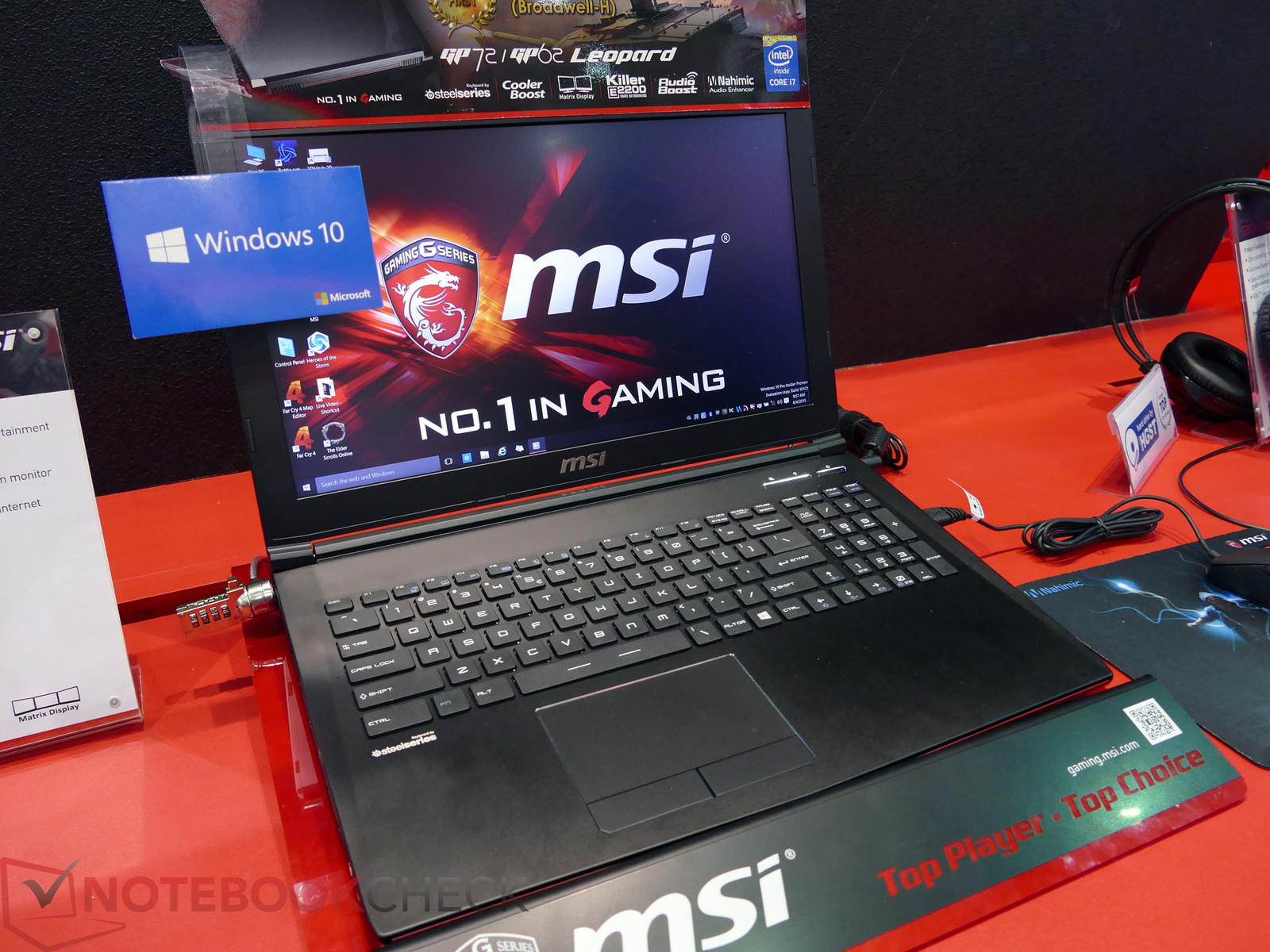 Láthatáron az MSI GP62