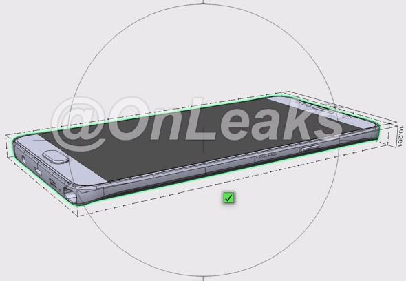 Ilyen lehet a Samsung Galaxy Note 5