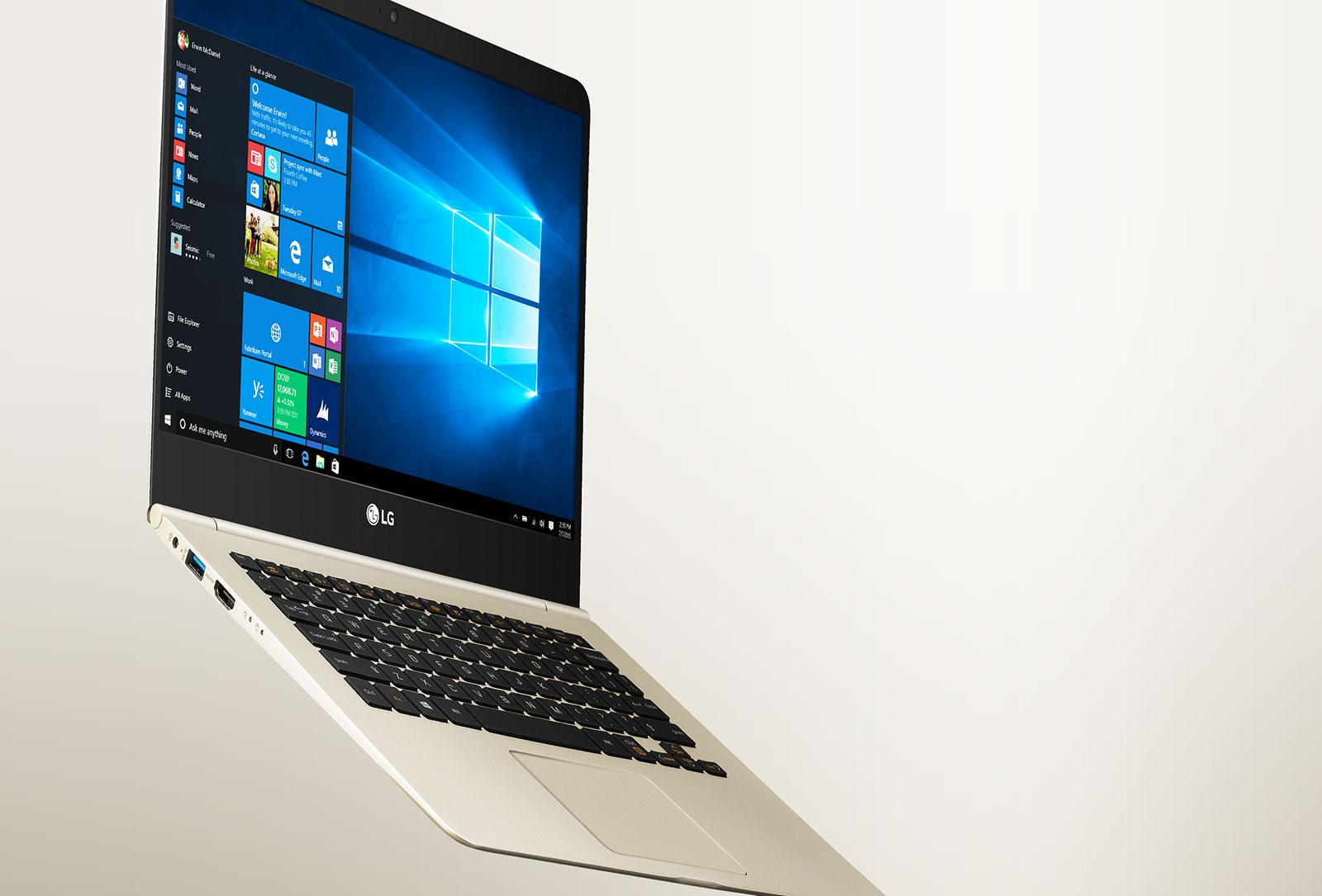 Laptop különlegesség ínyenceknek az LG műhelyéből.