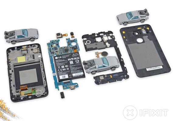 Könnyen szerelhető a Nexus 5X