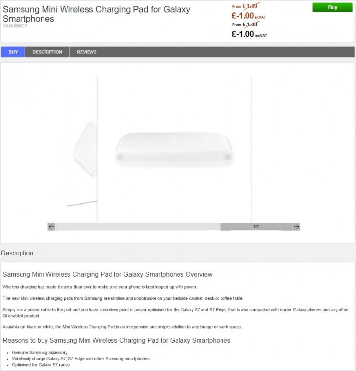 Wireless töltő jön a Galaxy S7-hez