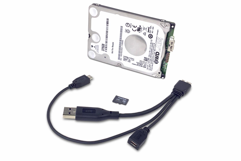 Új WD merevlemez Raspberry Pi-hez