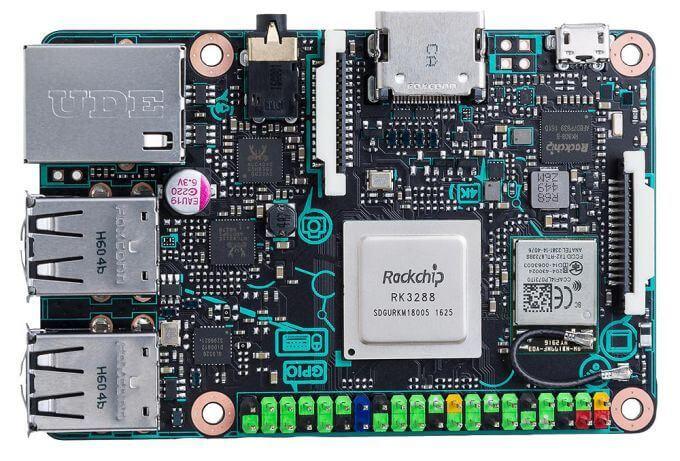 Itt az Asus Tinker Board