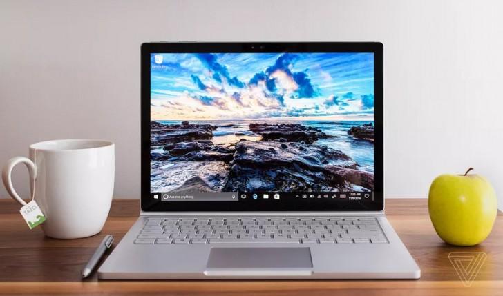Hagyományos irányt vehet a Surface Book 2