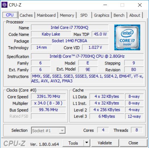 HP Omen 15 CPUZ kép