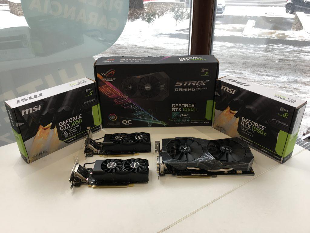Nvidia GTX 1050 ti és Nvidia GTX 1050 és Nvidia GTX 1050 Ti OC Gaming