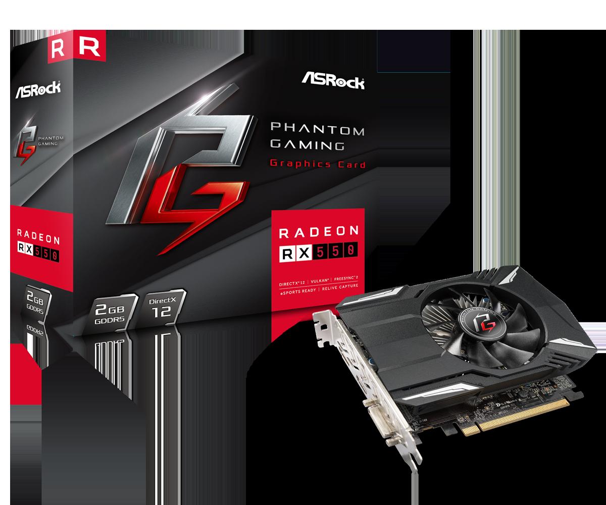 Radeon RX550 2G