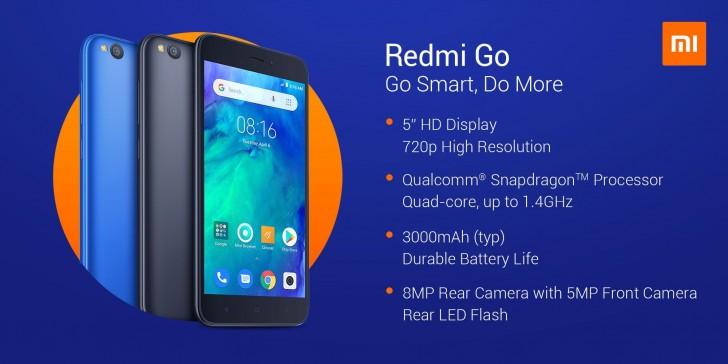 A Xiaomi hivatalosan is bejelentette az első Android Go-alapú Redmi Go-t