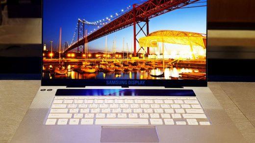 UHD felbontású Samsung OLED panel érkezett, prémium notebookokba