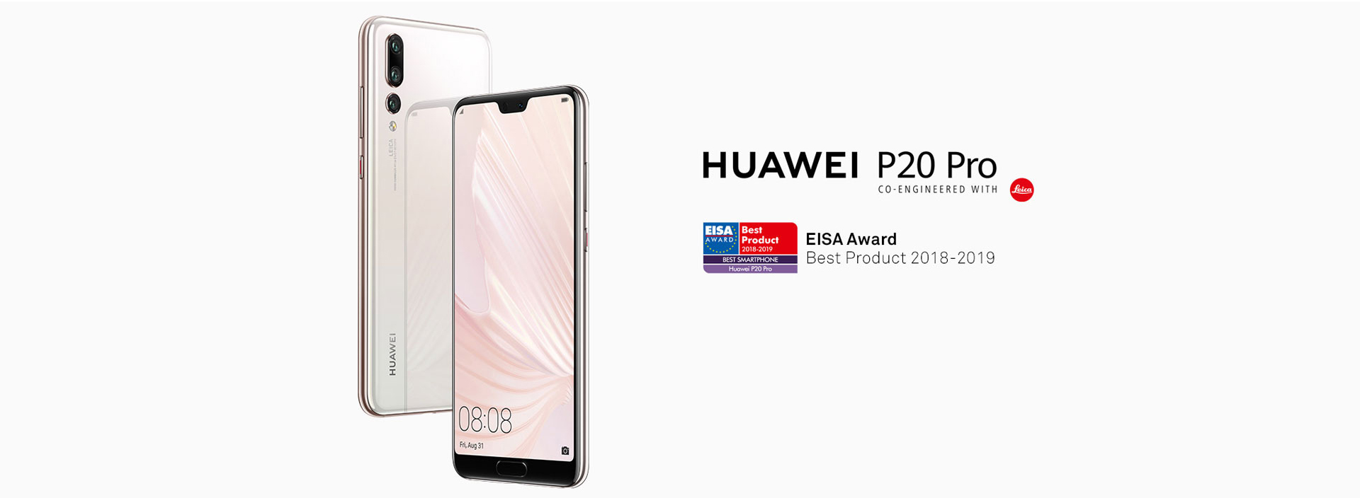 EISA győztes Huawei P20 Pro