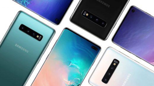 Elérhetőek a Samsung Galaxy S10 széria render képei