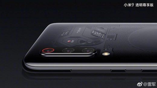 Különleges kamerát kap a Xiaomi Mi 9 átlátszó változata