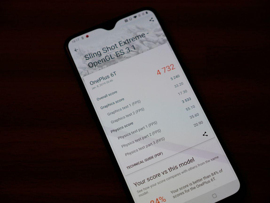 OnePlus 6T teszt
