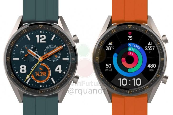 Két új Huawei Watch GT modell érkezhet a P30-al együtt