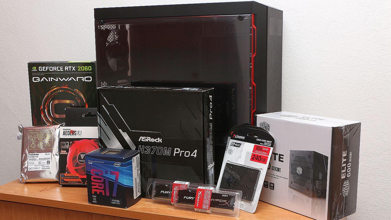 9ff4058830ca PC építés, avagy számítógép összeszerelés 2019-ben?