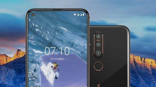 A Samsung-hoz hasonló kialakítással mutatkozott be a Nokia X71