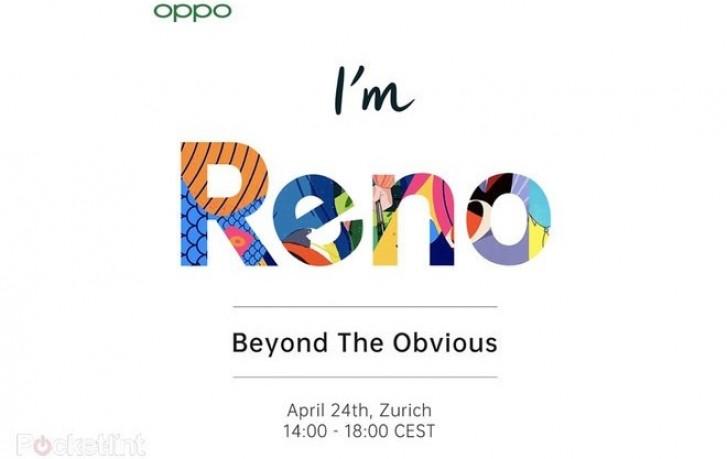 Április 24.-én kerül bemutatásra az új Oppo Reno modell